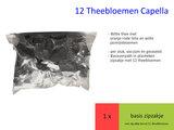 12 theebloemen in zipzakje