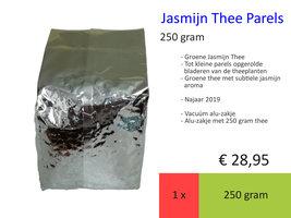 Jasmijn Thee Parels, 250 gr, najaar 2019