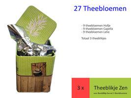 27 theebloemen