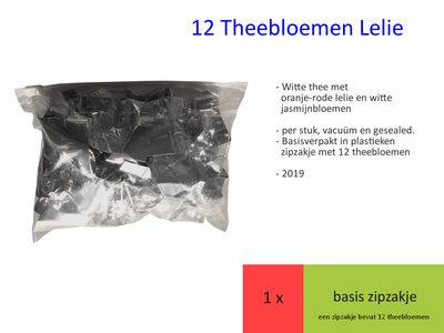 12 Theebloem Lelie 2019
